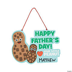 Father's Day Little Peanut Sign Craft Kit