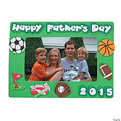 2015 Father's Day Picture Frame Magnet Craft Kit