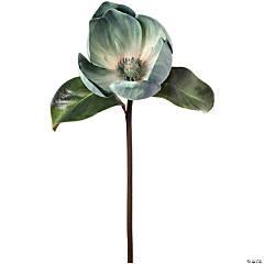 """Faux Caledonia Magnolia 24""""-Aquamarine"""