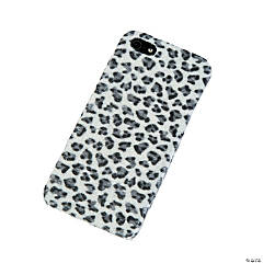 Faux Fur Black & White Cheetah Print iPhone® 5 Case