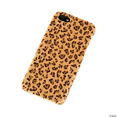 Faux Fur Brown & Black Cheetah Print iPhone® 5 Case