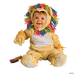 Fearless Lil Lion Newborn Kid's Costume