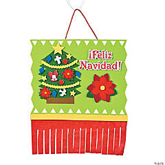 Feliz Navidad Sign Craft Kit