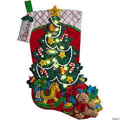 Felt Stocking  Kit-Christmastreesurprise