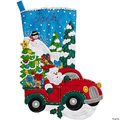 Felt Stocking Kit The Christmas Drive