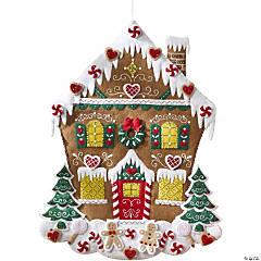 Felt Wall Hanging Kit -Gingerbread House