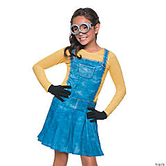 Female Minion Costume for Girls