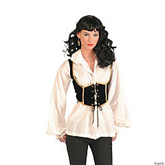 Female Pirate Vest Adult Women's Costume