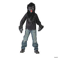 Ferocious Gorilla Costume for Boys