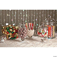Festive Holiday Candy Buffet Idea