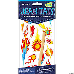 Fiery Blasts Jean Tats Packs