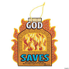 Fiery Furnace Mosaic Sign Craft Kit