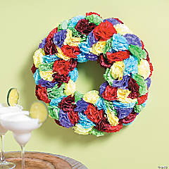 Fiesta Flower Wreath Idea