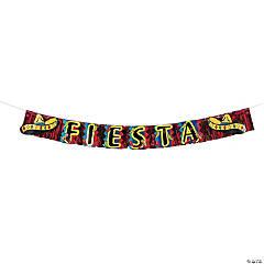 Fiesta Fringe Foil Banner