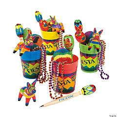 Fiesta Fun Plastic Cups
