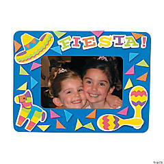 Fiesta Picture Frame Magnet Craft Kit