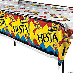 Fiesta Plastic Tablecloth