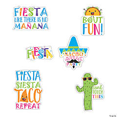 Fiesta Sayings Cutouts
