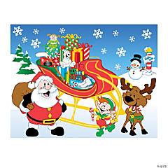 Fill Santa's Sleigh Sticker Scenes