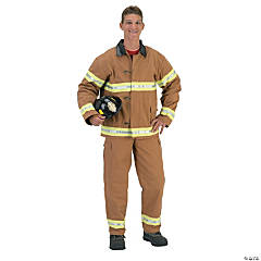 Fire Fighter Adult Men's Fireman Costume