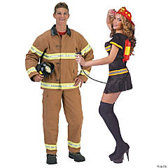 Fire Fighter Couples Costumes