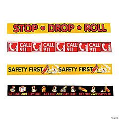 Fire Safety Reminder Rubber Bracelets