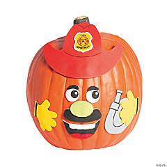 Firefighter Pumpkin Decorating Craft Kit