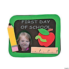 First Day of School Picture Frame Magnet Craft Kit