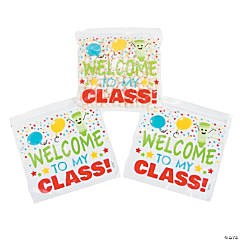 First Day of School Resealable Treat Bags