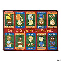 First Signs© Classroom Rug