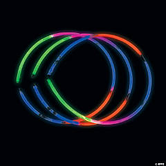 Five-Color Premium Glow Necklaces