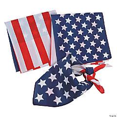 Flag Print Bandanas