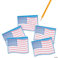Flag Shaped Sticky Notes