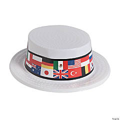 Flags of All Nations Skimmer Hats