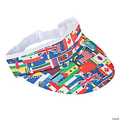 Flags of All Nations Visors