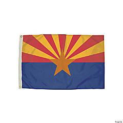 FlagZone Durawavez Nylon Outdoor Flag with Heading & Grommets, Arizona, 3' x 5'