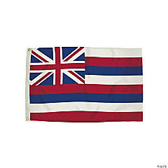 FlagZone Durawavez Nylon Outdoor Flag with Heading & Grommets, Hawaii, 3' x 5'