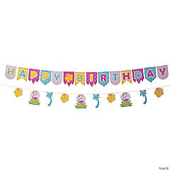 Flamingo Birthday Garland