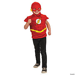 Flash Muscle Shirt and Head for Boys