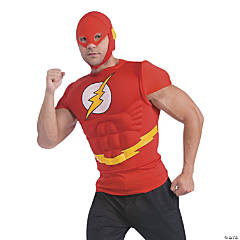 Flash Muscle Shirt Costume for Men
