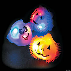 Flashing Light-Up Halloween Rings