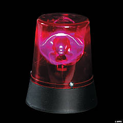 Flashing Mini Red Beacon Party Light
