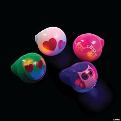 Flashing Valentine Light-Up Rings
