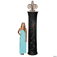Fleur De Lis Light-Up Column