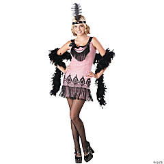 Flirty Flapper Jr. Girl's Costume