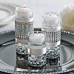 Floating Candle Centerpiece Idea