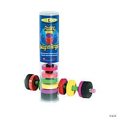 Floating Magnet Rings, 1 pencil & 6 magnets/pkg, Set of 6 packs