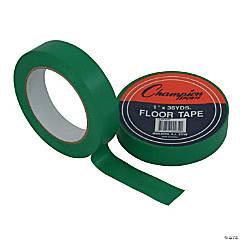 Floor Marking Tape, Green, 1