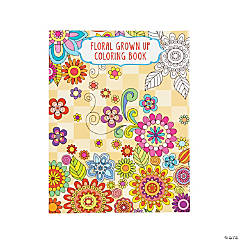 Floral Design 2 Adult Coloring Book