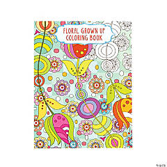 Floral Design 3 Adult Coloring Book